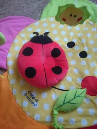Продам коврик для игры для малышей Canpol babies в очень хорошем состоянии. В ко. Макіївка, Донецька область. фото 5