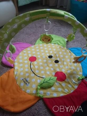 Продам коврик для игры для малышей Canpol babies в очень хорошем состоянии. В ко. Макіївка, Донецька область. фото 1