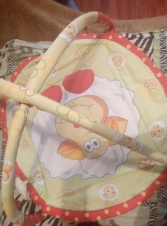 Детский коврик—165+игрушки.После одного ребенка.подвеска#1:обезьянка—65грн.#2Осл. Бориспіль, Київська область. фото 2