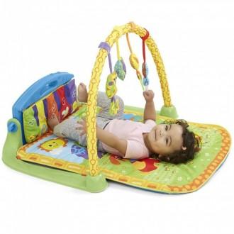 Очень классный коврик,ребёнок был в восторге,сначала просто наблюдал за игрушкам. Херсон, Херсонская область. фото 2