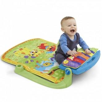 Очень классный коврик,ребёнок был в восторге,сначала просто наблюдал за игрушкам. Херсон, Херсонская область. фото 3