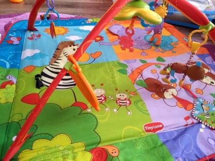 В хорошем состоянии развивающий коврик,все игрушки в наличии. Іллічівськ, Одеська область. фото 4