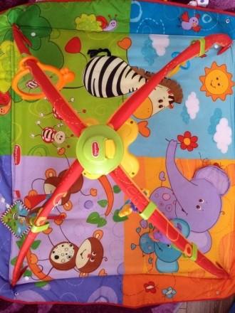 В хорошем состоянии развивающий коврик,все игрушки в наличии. Іллічівськ, Одеська область. фото 5