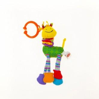 Biba Toys Жираф Риггл Подвеска для развития тактильных ощущений Весёлая и забавн. Суми, Сумська область. фото 2