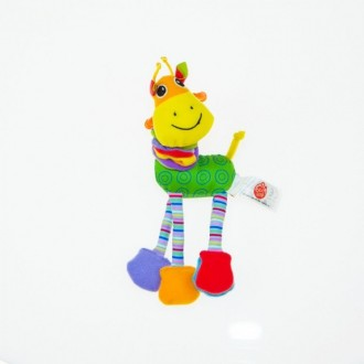 Biba Toys Жираф Риггл Подвеска для развития тактильных ощущений Весёлая и забавн. Суми, Сумська область. фото 3