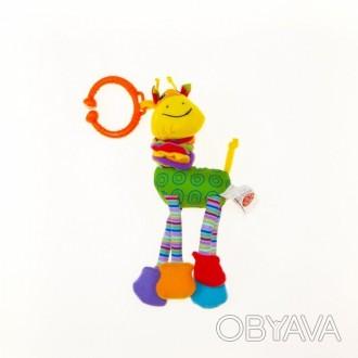 Biba Toys Жираф Риггл Подвеска для развития тактильных ощущений Весёлая и забавн. Суми, Сумська область. фото 1