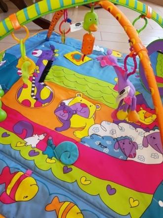 """Развивающий коврик с дугами Tini Love, """"Зоосад"""", подходит для самых маленьких (о. Киев, Киевская область. фото 4"""