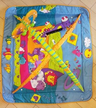 """Развивающий коврик с дугами Tini Love, """"Зоосад"""", подходит для самых маленьких (о. Киев, Киевская область. фото 3"""