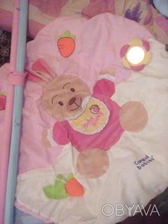 Продам развивающий коврик для малыша. Цена 150грн. Носик пищит,ушки шелестят ест. Краматорск, Донецкая область. фото 1
