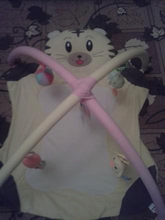 Детский развивающий коврик с дугами и игрушками.. Кам'янське, Дніпропетровська область. фото 3