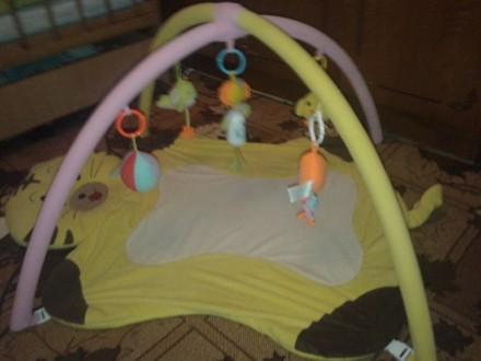 Детский развивающий коврик с дугами и игрушками.. Кам'янське, Дніпропетровська область. фото 2