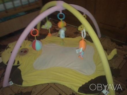 Детский развивающий коврик с дугами и игрушками.. Кам'янське, Дніпропетровська область. фото 1