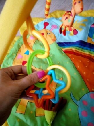 Отличный развивающий коврик, в очень хорошем состоянии, как новый, после одного . Київ, Київська область. фото 3