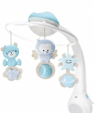 Мобиль 3в1 с проектором, лучшая игрушка для ребёнка с 0 до 3 лет, состояние идеа. Запоріжжя, Запорізька область. фото 6