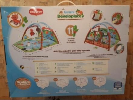 Продам детский развивающий коврик Tiny Love Лесной Домик. Двусторонний коврик. Р. Одесса, Одесская область. фото 3