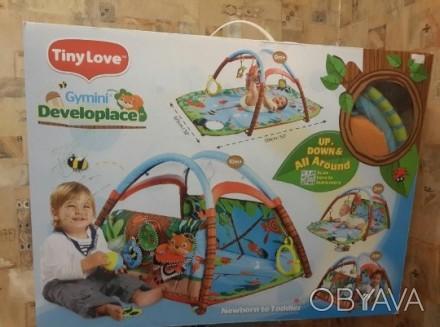 Продам детский развивающий коврик Tiny Love Лесной Домик. Двусторонний коврик. Р. Одесса, Одесская область. фото 1