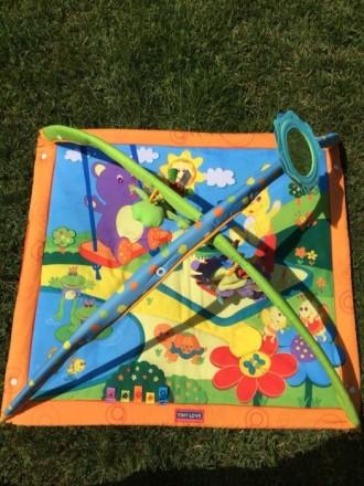 Развивающий коврик для малышей от 0+, в отличном состоянии. Новый стоит 1500 гон. Кременчук, Полтавська область. фото 4