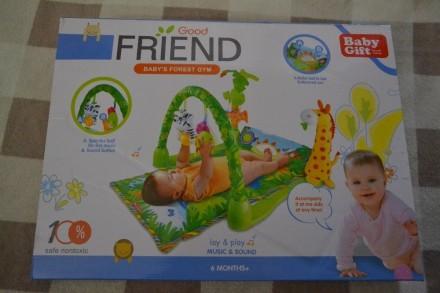 Коврик развивающий для малышей Baby Gift Africa 3059. Киев. фото 1