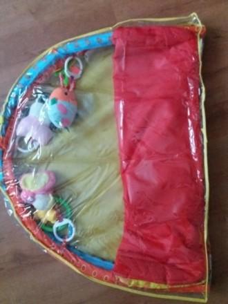 Продам развивающий детский коврик, состояние хорошее, игрушки все на месте,можно. Чернігів, Чернігівська область. фото 4