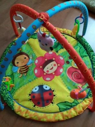 Продам развивающий детский коврик, состояние хорошее, игрушки все на месте,можно. Чернігів, Чернігівська область. фото 3
