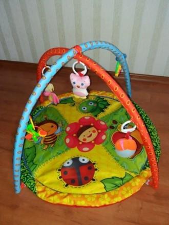 Продам развивающий детский коврик, состояние хорошее, игрушки все на месте,можно. Чернігів, Чернігівська область. фото 2