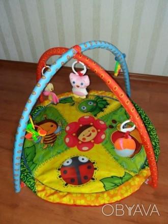 Продам развивающий детский коврик, состояние хорошее, игрушки все на месте,можно. Чернігів, Чернігівська область. фото 1