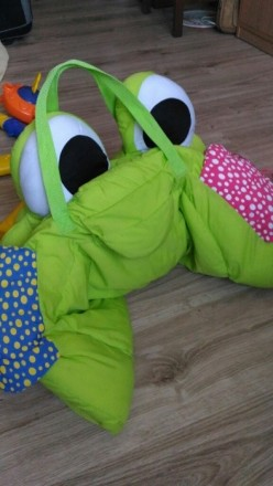 Мягкий коврик-манеж для младенца. Полностью разбирается и компактно складывается. Киев, Киевская область. фото 3