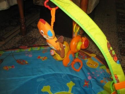 Развивающий коврик для детей от рождения,с шуршалками, музыкальным элементом, гр. Херсон, Херсонська область. фото 4
