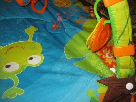 Развивающий коврик для детей от рождения,с шуршалками, музыкальным элементом, гр. Херсон, Херсонська область. фото 2