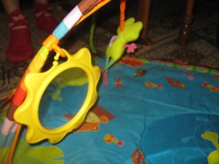 Развивающий коврик для детей от рождения,с шуршалками, музыкальным элементом, гр. Херсон, Херсонська область. фото 5