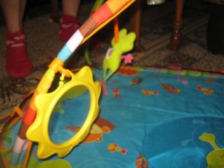 Развивающий коврик для детей от рождения,с шуршалками, музыкальным элементом, гр. Херсон, Херсонська область. фото 6