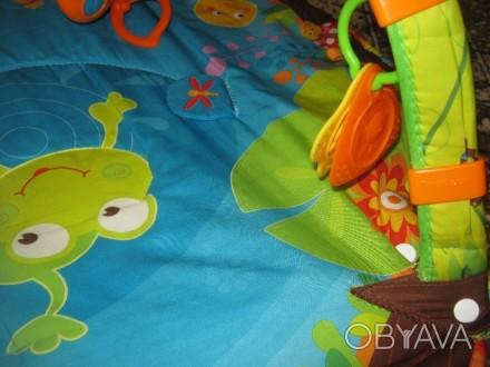 Развивающий коврик для детей от рождения,с шуршалками, музыкальным элементом, гр. Херсон, Херсонська область. фото 1