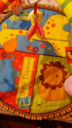 Продам яркий детский развивающийся коврик!!! Пересылаю НП и УП Торг уместен. Упа. Киев, Киевская область. фото 3