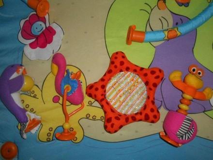 Коврик в хорошем состоянии. Из комплекта игрушек остались фламинго, морской краб. Маріуполь, Донецька область. фото 5