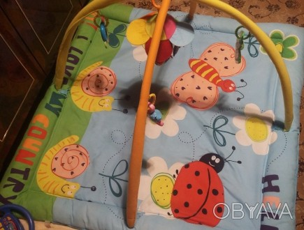 """Продам развивающий коврик Biba Toys """"Райский сад"""". Красочный многофункциональный. Одеса, Одеська область. фото 1"""