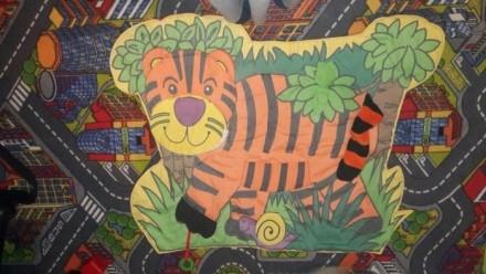 Развивающий коврик для малыша. Интересный яркий тигр.Малышу очень забавно и инте. Киев, Киевская область. фото 3