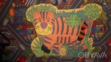 Развивающий коврик для малыша. Интересный яркий тигр.Малышу очень забавно и инте. Киев, Киевская область. фото 1
