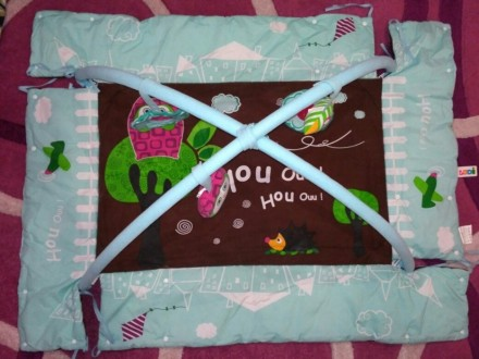 """Развивающий коврик LUDI """"Сова"""". Отлично подойдет для новорожденных. Изготовлен и. Запорожье, Запорожская область. фото 3"""