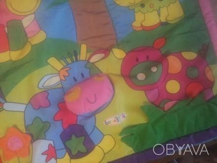 Коврик доя развития очень яркий и красочный! Подходит как для мальчиков так и дл. Житомир, Житомирская область. фото 1