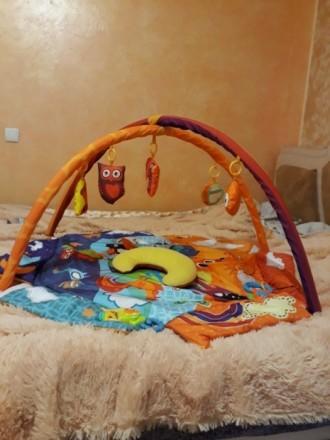 """Развивающий коврик для младенца ТМ """"Kinderkraft"""". Состояние отличное.. Кривой Рог, Днепропетровская область. фото 4"""