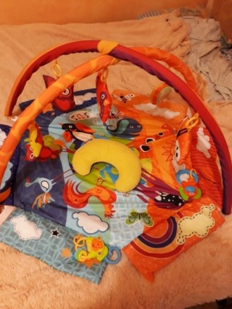 """Развивающий коврик для младенца ТМ """"Kinderkraft"""". Состояние отличное.. Кривой Рог, Днепропетровская область. фото 3"""