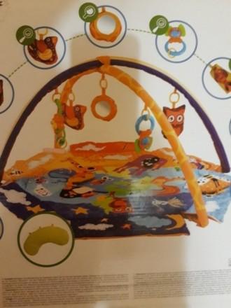 """Развивающий коврик для младенца ТМ """"Kinderkraft"""". Состояние отличное.. Кривой Рог, Днепропетровская область. фото 5"""