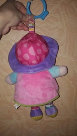 Новая кукла для малышей. Развивающая подвеска Lamaze Шелестит...гремит и т.д). Днепр, Днепропетровская область. фото 5
