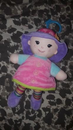 Новая кукла для малышей. Развивающая подвеска Lamaze Шелестит...гремит и т.д). Днепр, Днепропетровская область. фото 2