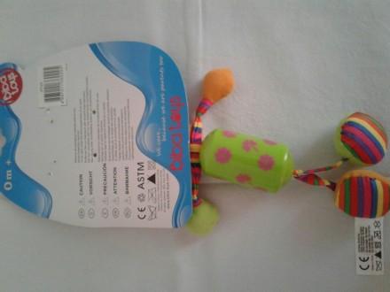 Продам новую подвеску погремушку для коляски. Чернігів, Чернігівська область. фото 3