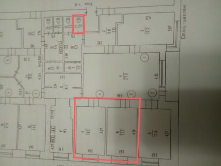 2 комнаты в общежитии. Приватизированы. Цена за 1 комнату 5500$ Гоголя. Черкассы. фото 1