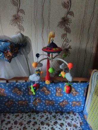 """Продам музыкальный мобиль """"Самолетики"""" с проектором ночного неба для мальчика в . Днепр, Днепропетровская область. фото 3"""