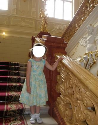 Красивое летнее платье Polly Flinders на 4 года -110см. Южний. фото 1