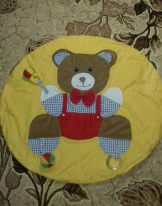 Продам коврик для малышей. Состояние очень хорошее, дефект только один - маленьк. Киев, Киевская область. фото 4