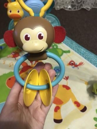 Продам развивающий коврик Tiny Love,в хорошем состоянии .Из игрушек на нем-проре. Харьков, Харьковская область. фото 6
